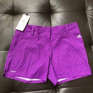 NWT Adidas Adizero Golf Shorts